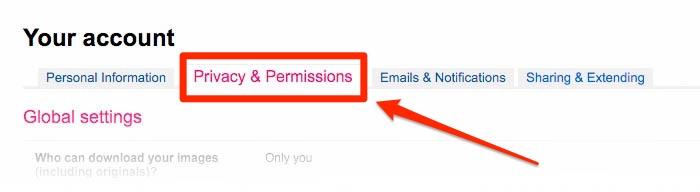 Privacy & Permissions